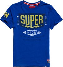 T-shirt Blu uomo T-shirt Classic Lite Power Supplies Heritage