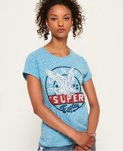 T-shirt Blu donna T-shirt Gasoline