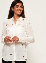 Camicia Bianco donna Camicia Stevie Conversational