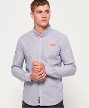 Camicia Blu uomo Camicia button down Premium