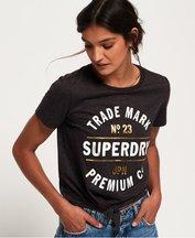 T-shirt Grigio Chiaro donna T-shirt Premium Knot Front