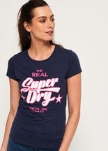 T-shirt Nero donna T-shirt Real Heritage Duo
