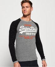 T-shirt Multi uomo T-shirt a maniche lunghe Premium Goods Raglan