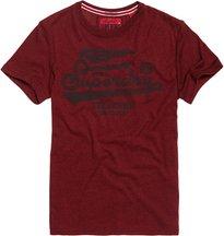 T-shirt Rosso uomo T-shirt High Flyers Tonal