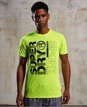 T-shirt Giallo uomo T-shirt Core Training Graphic