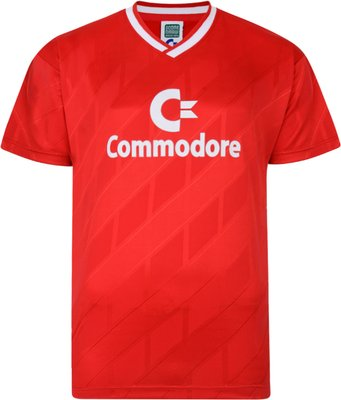 Score Draw Bayern Commodore 1986 Trikot Retro Football Shirt Score Draw