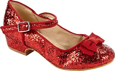 John Lewis Childrens Block Heel Mary Jane Glitter Shoes