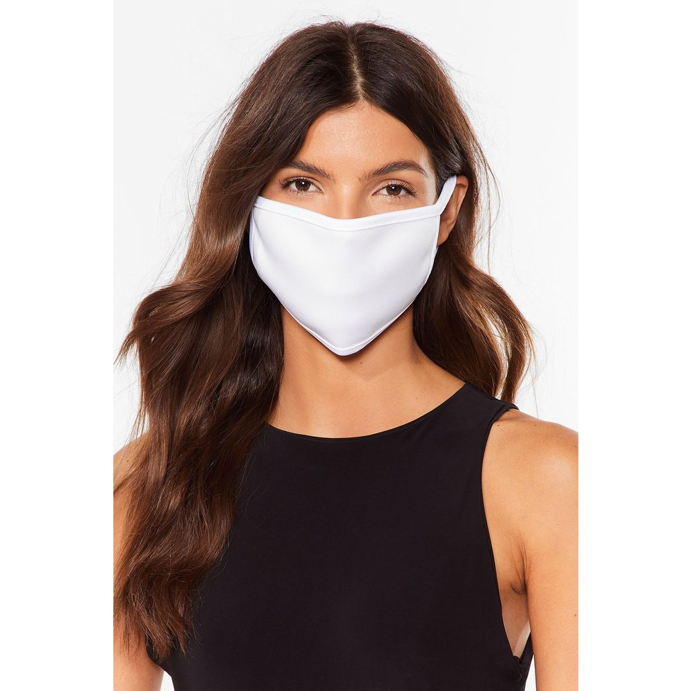 Womens Masque Facial Fashion Motus Et Bouche Cousue - Nasty Gal - Modalova