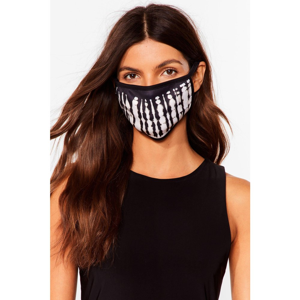 Womens Masque Facial Fashion Effet Tie Dye - Nasty Gal - Modalova