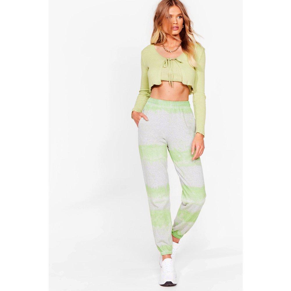 Womens Pantalon De Jogging À Rayures Effet Tie-Dye - Nasty Gal - Modalova