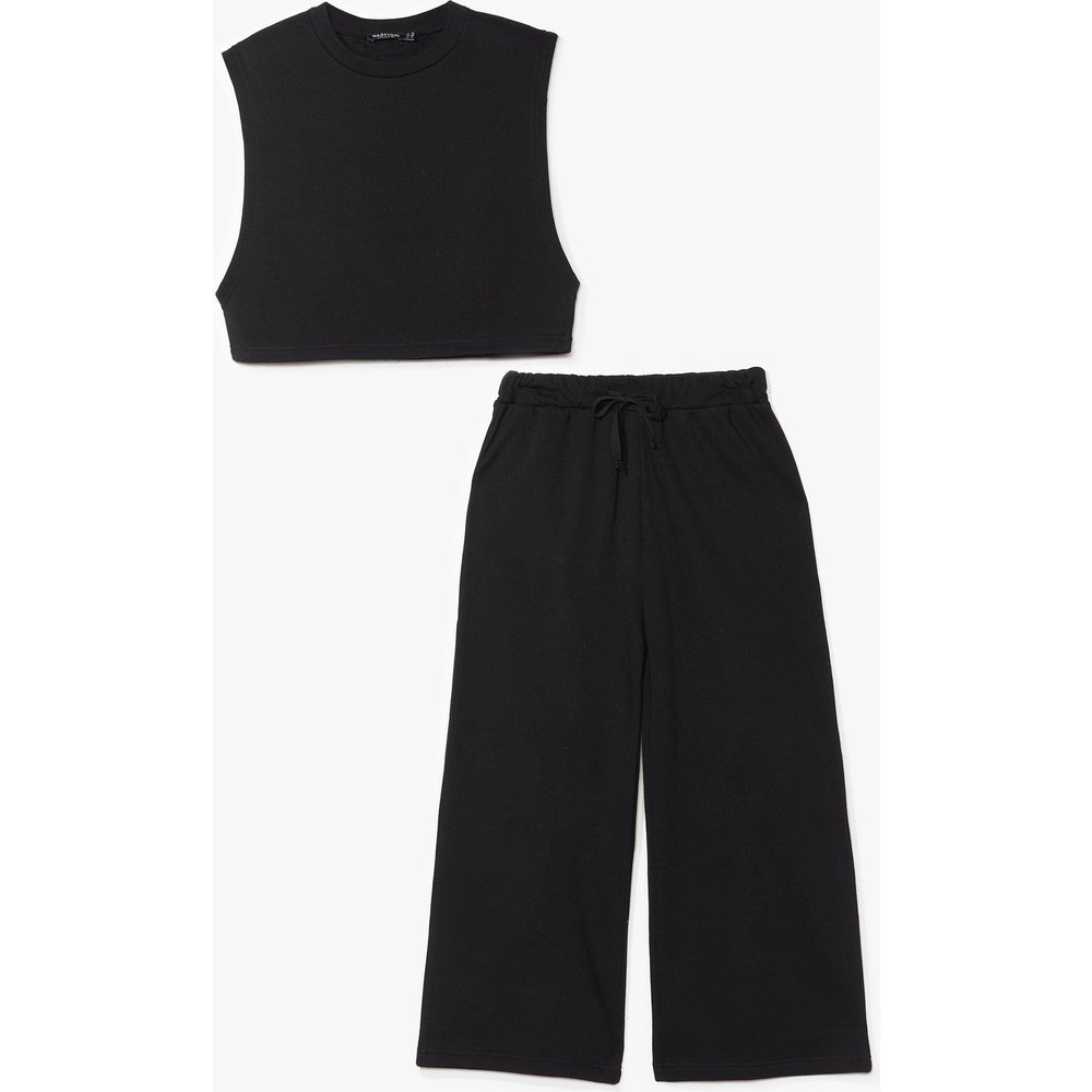 Womens Ensemble Crop Top & Jupe Culotte - Nasty Gal - Modalova