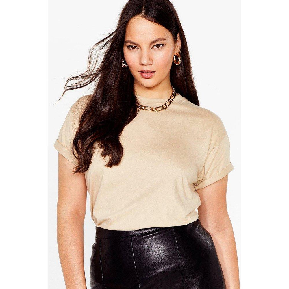 Womens Grande Taille - T-Shirt Basique Simple Et Stylée - Nasty Gal - Modalova