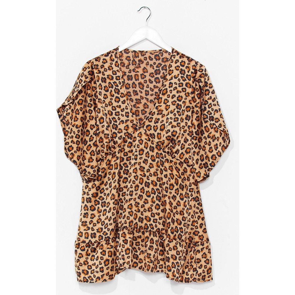 Womens Animal Smock Dress - Nasty Gal - Modalova