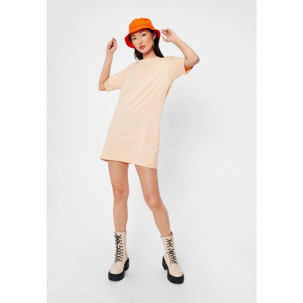 Womens Dressing Gown T-Shirt Basique Je Reviens Aux Bases - Nasty Gal - Modalova