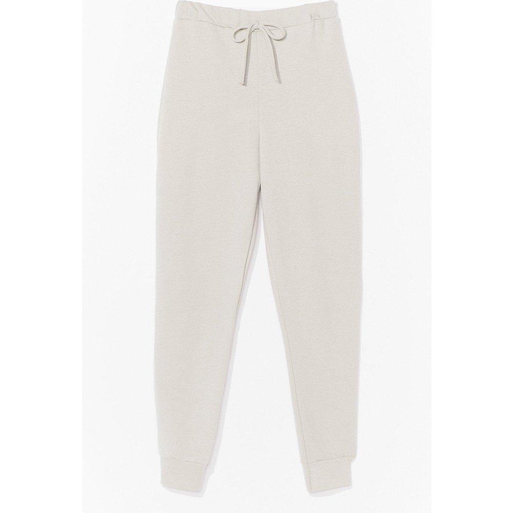Womens Pantalon De Jogging Taille Haute Resserré Aux Chevilles - Nasty Gal - Modalova