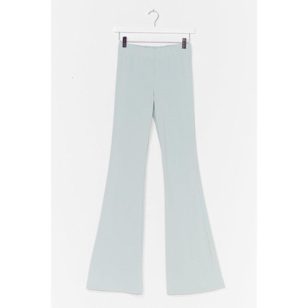 Womens Pantalon Flare Taille Haute Je Suis Très Flare De Toi - Nasty Gal - Modalova