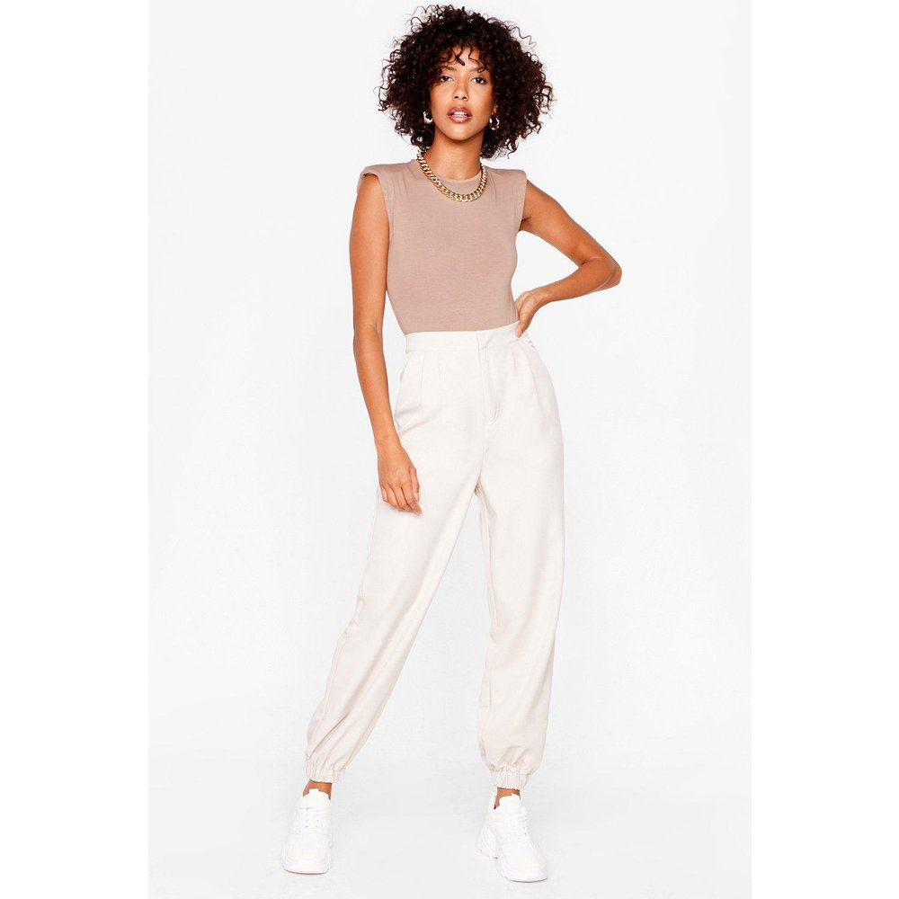 Womens Pantalon Fuselé Taille Haute Relation Casual - Nasty Gal - Modalova