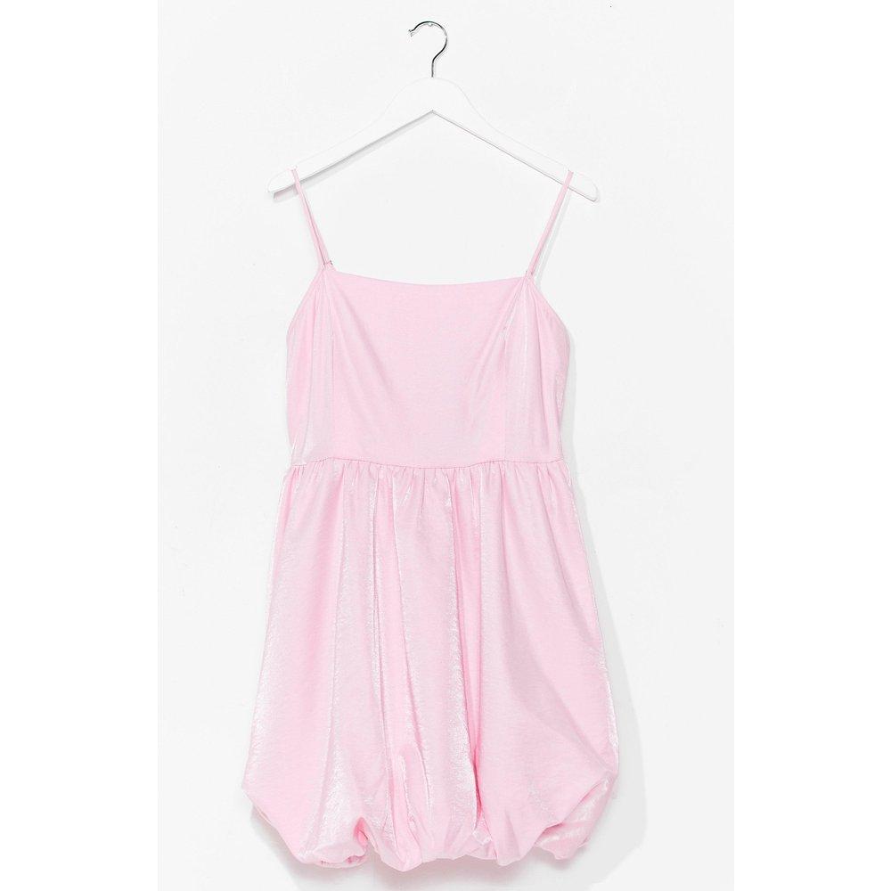 Womens Taffeta Puffball Mini Dress - Nasty Gal - Modalova