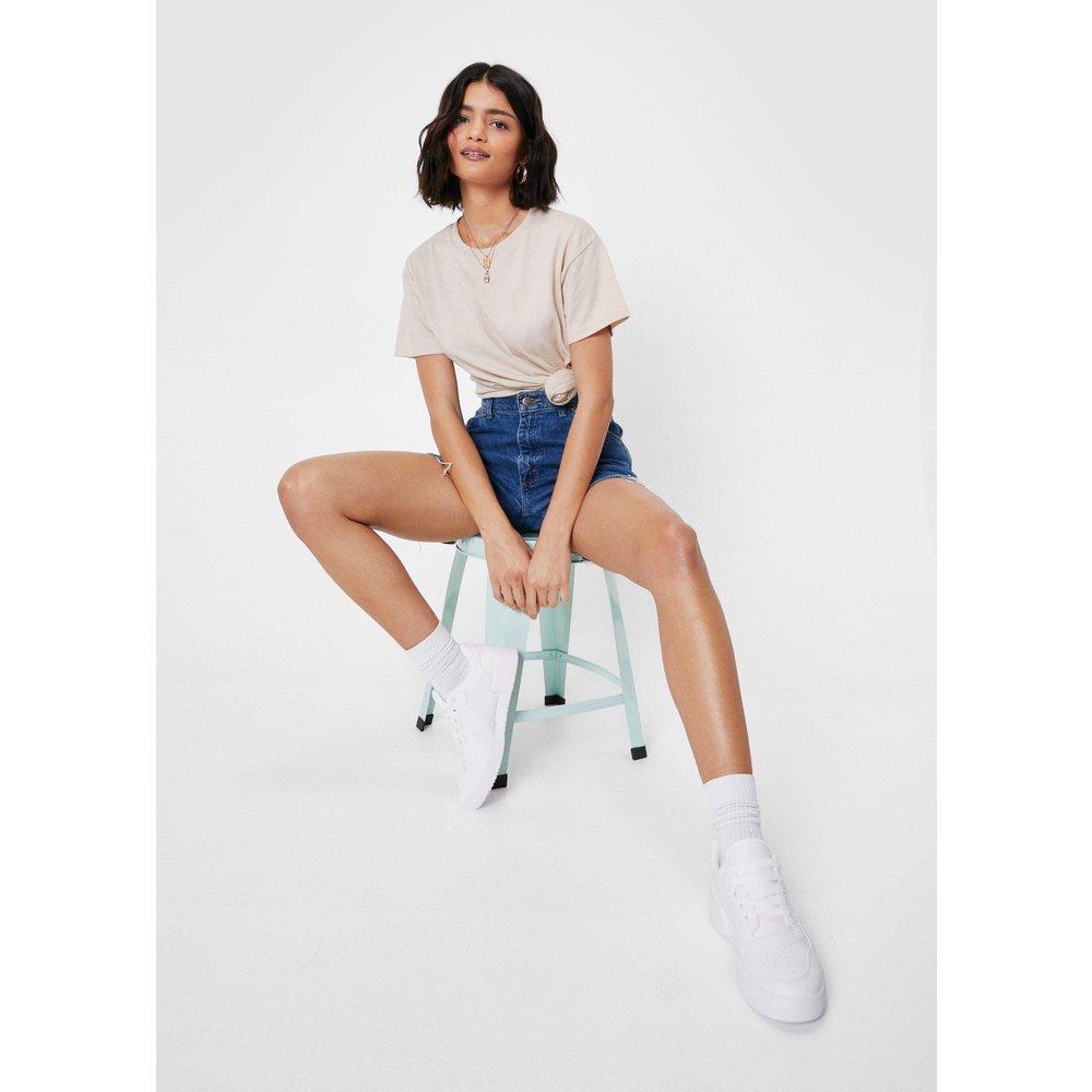 Womens T-Shirt Oversize Chiné - Nasty Gal - Modalova