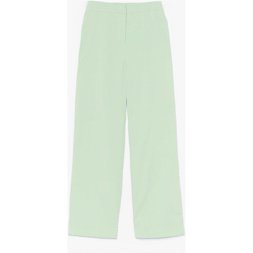 Womens Pantalon Droit Taille Haute Stylée Comme Jaja - Nasty Gal - Modalova