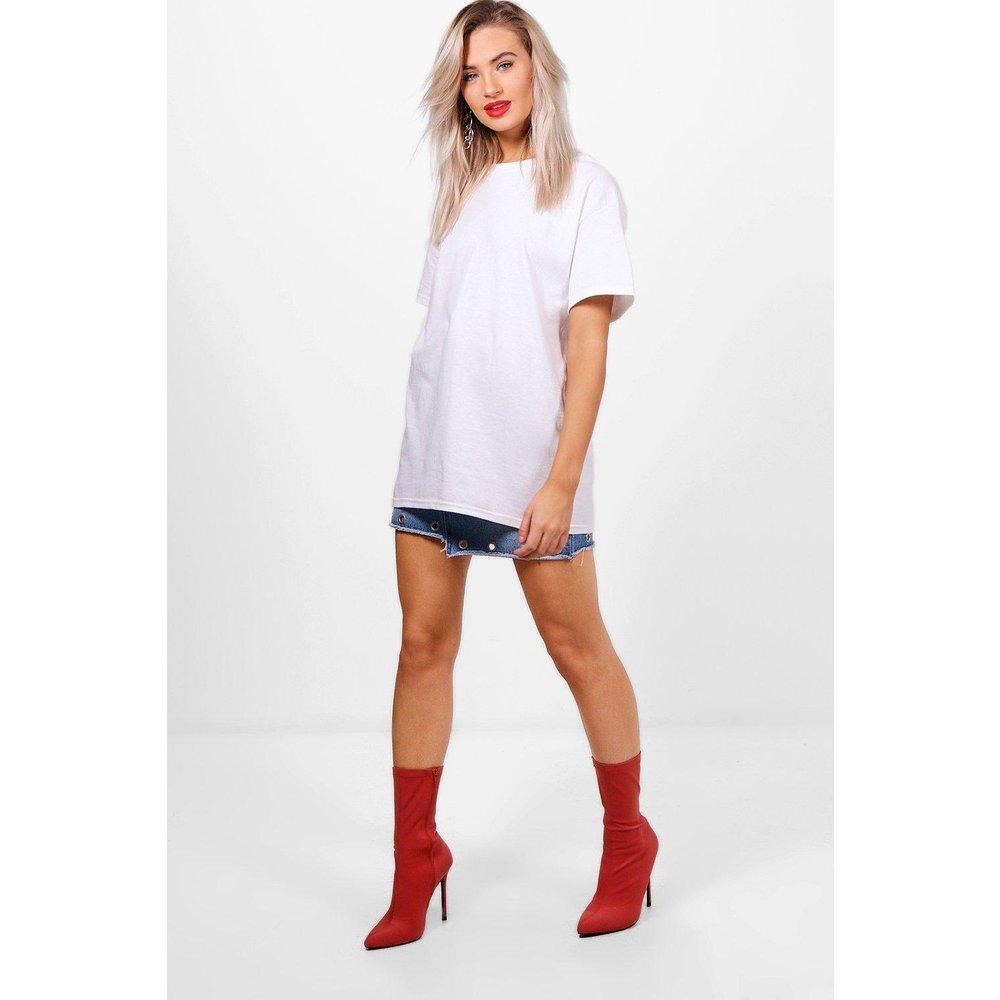 T-Shirt Surdimensionné Basique - boohoo - Modalova