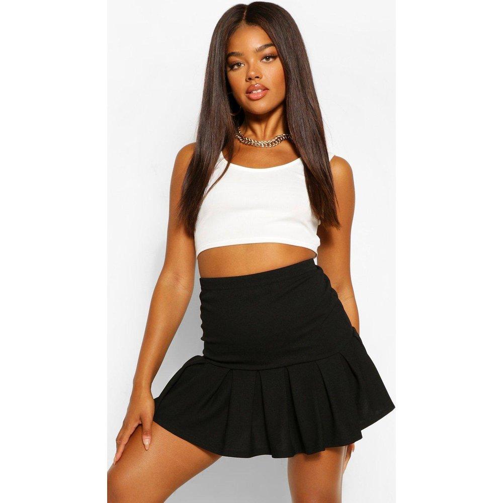 Pleated Drop Hem Tennis Skirt - boohoo - Modalova