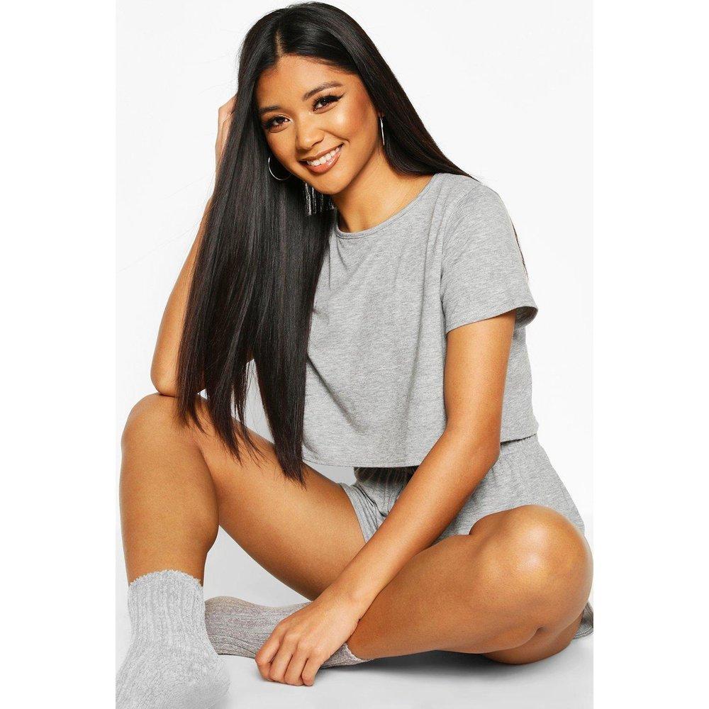 Parure De Pyjama T-Shirt & Short Doux - boohoo - Modalova
