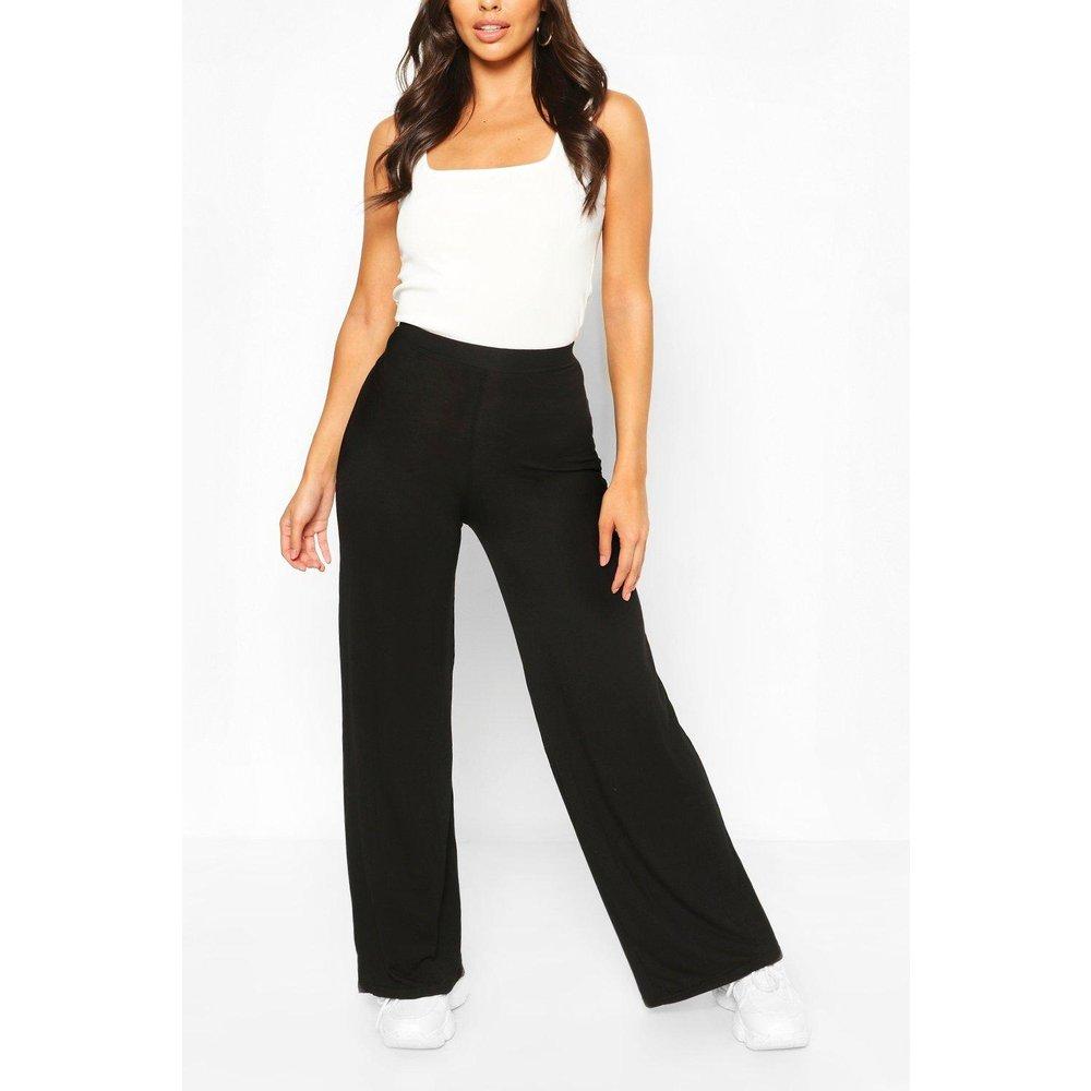 Petite - Pantalon Large & Fluide - boohoo - Modalova