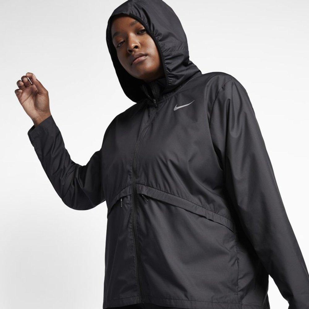 Grande Taille - Veste de runningà capuche Essential - Nike - Modalova
