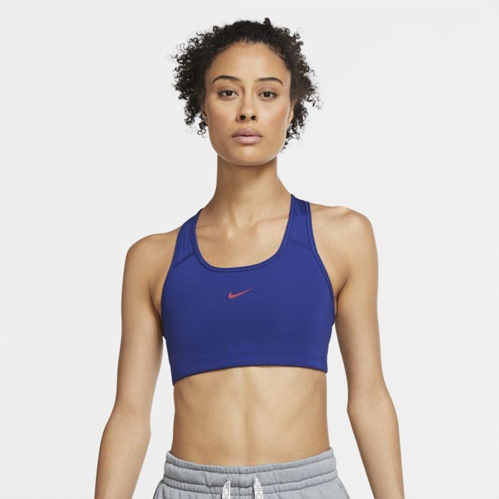 Brassière de sport à maintien normal avec coussinet une pièce Swoosh - Nike - Modalova