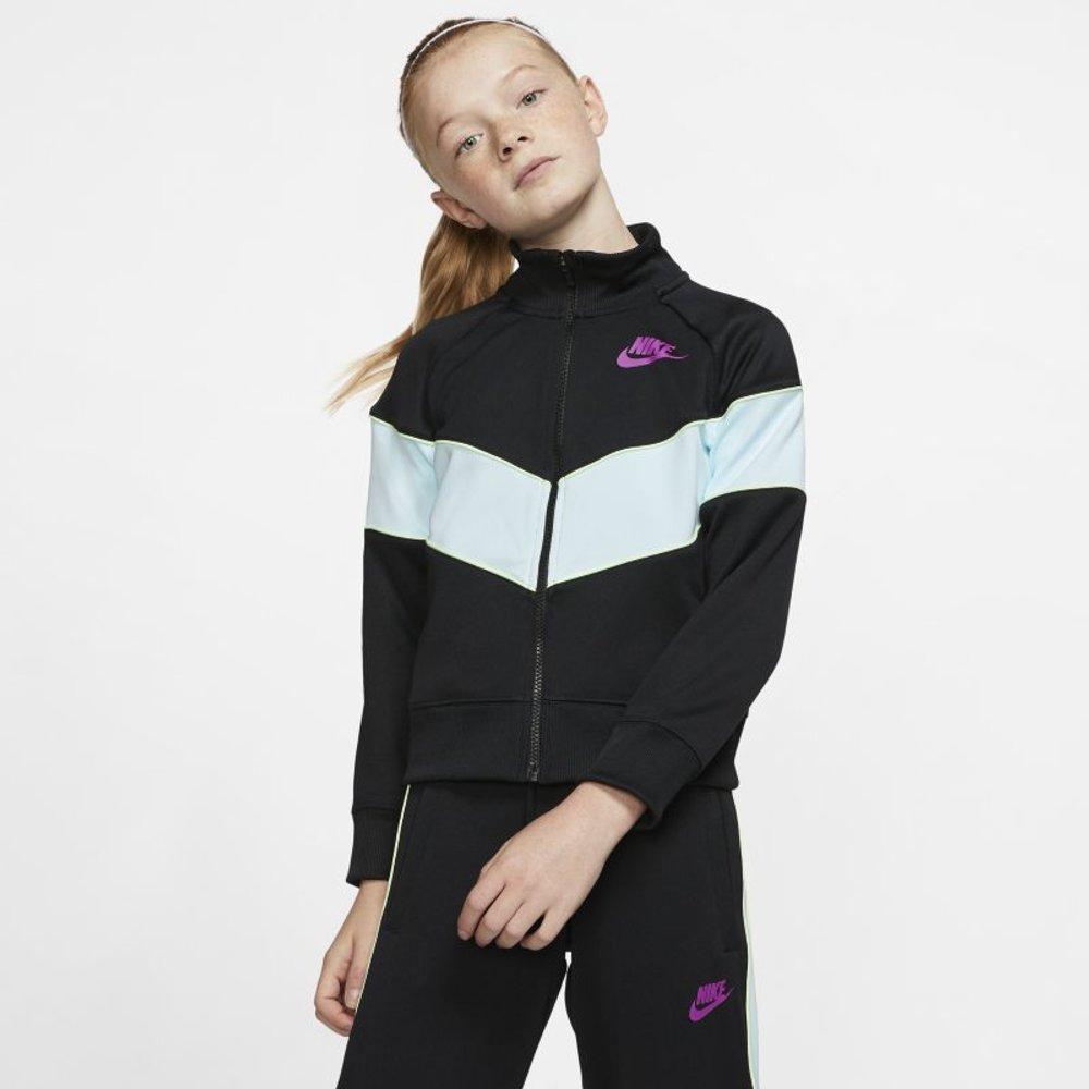 Veste entièrement zippée Sportswear Heritage pour Fille plus âgée - Nike - Modalova