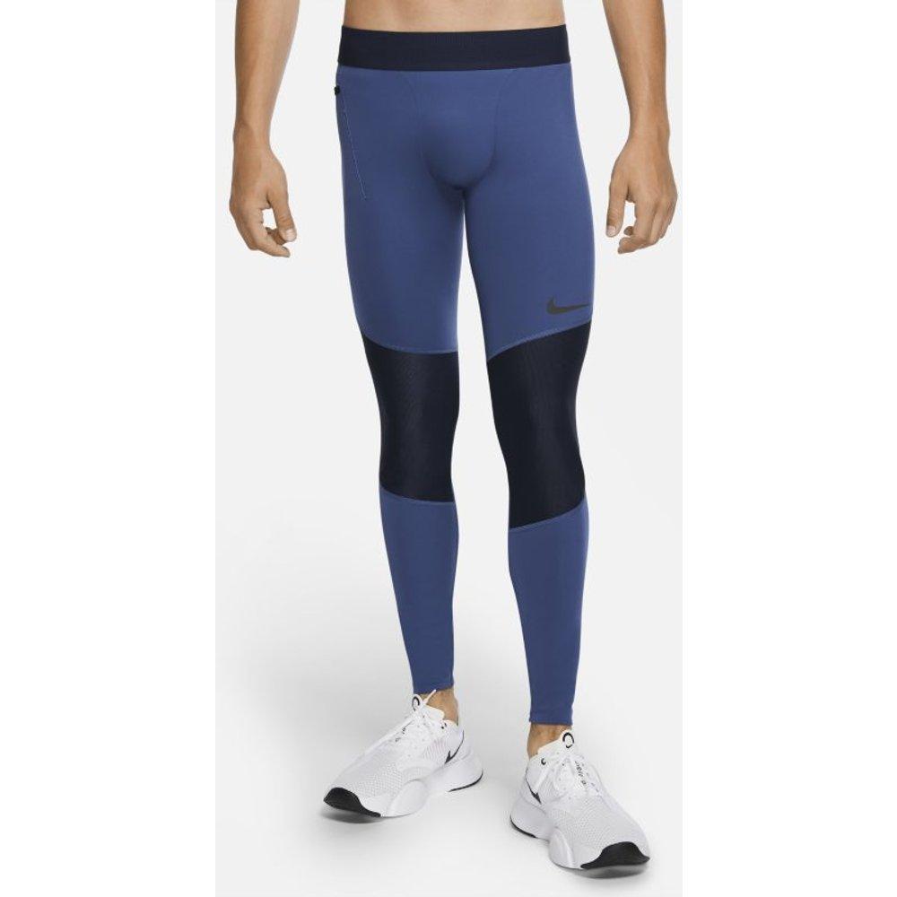 Legging Nike Pro pour Homme - Bleu - Nike - Modalova