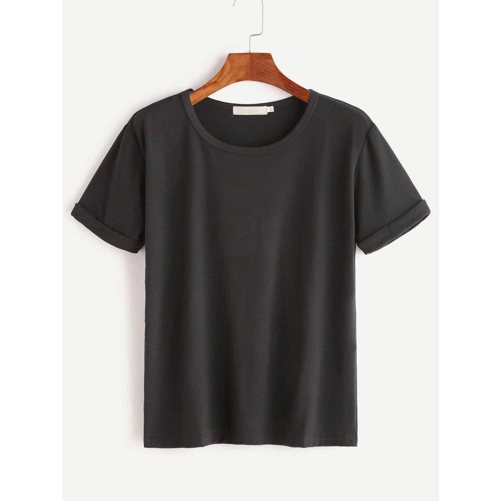T-shirt uni - SHEIN - Modalova
