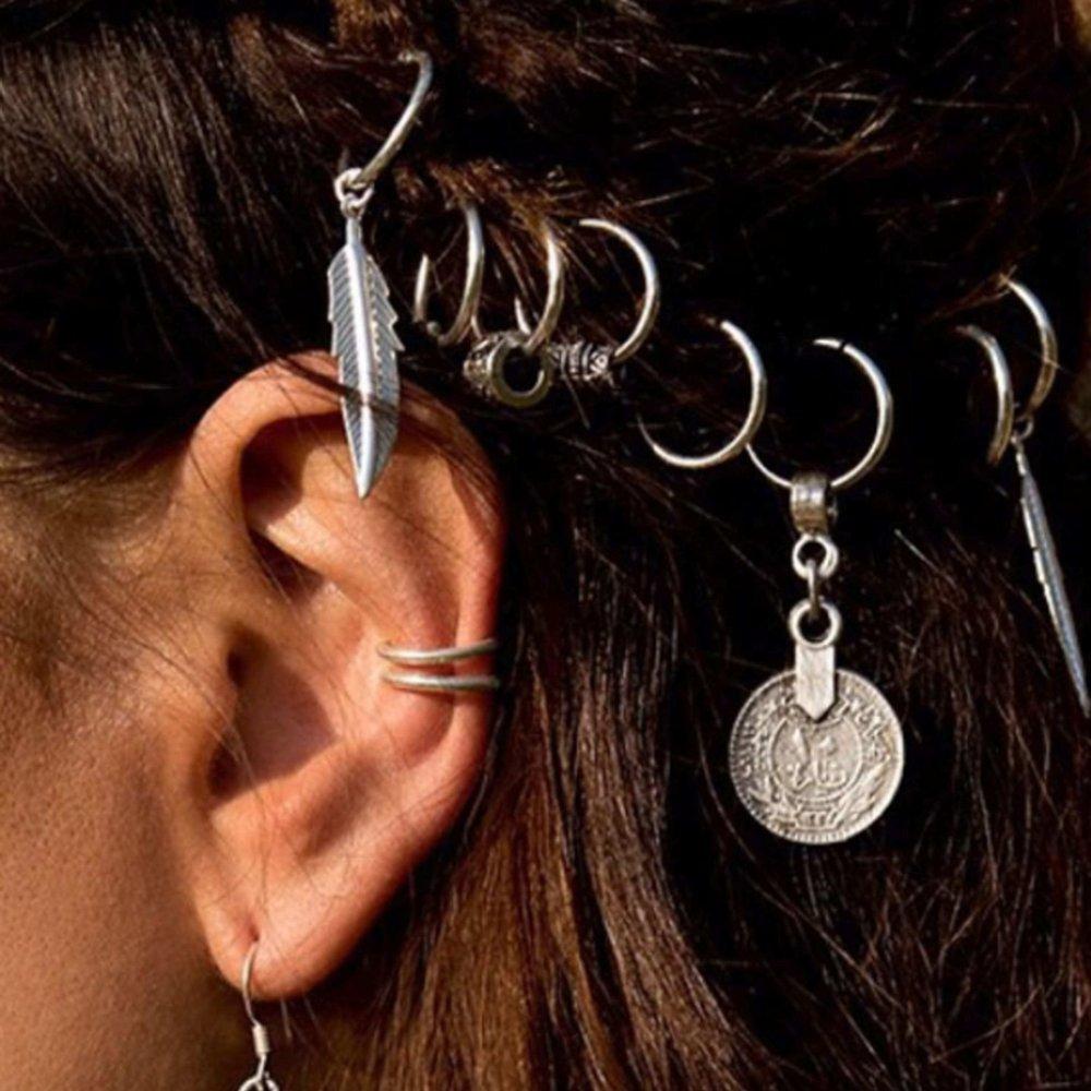 Accessoires cheveux Gris Bohème - SHEIN - Modalova