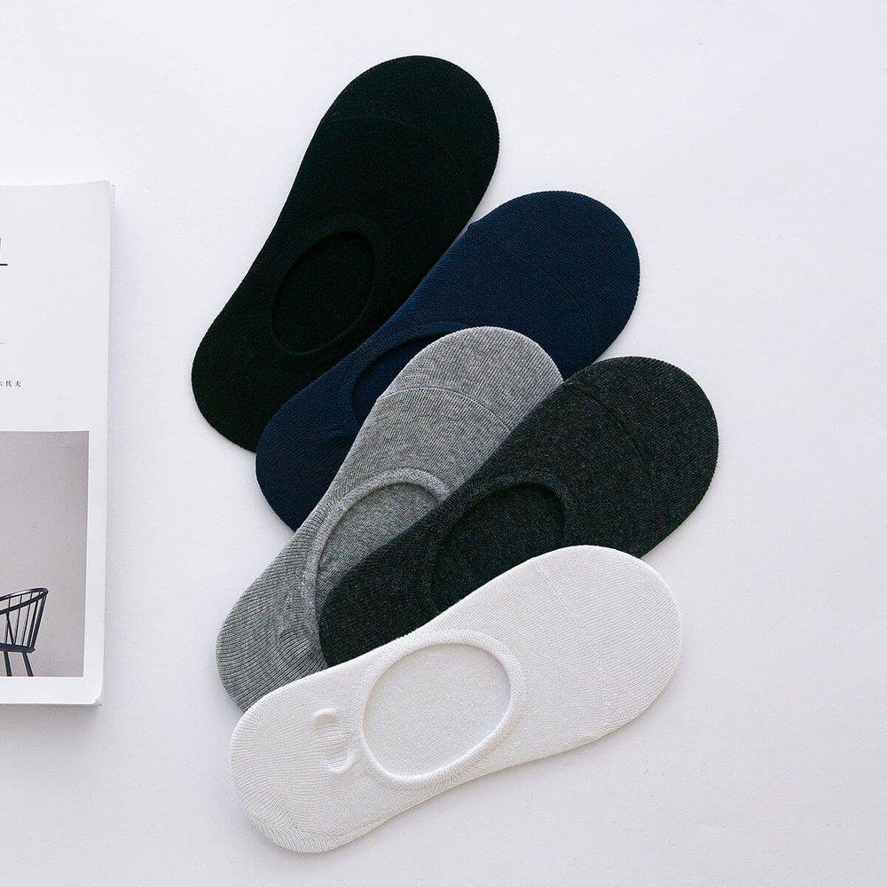 Chaussettes invisibles 5 paires - SHEIN - Modalova