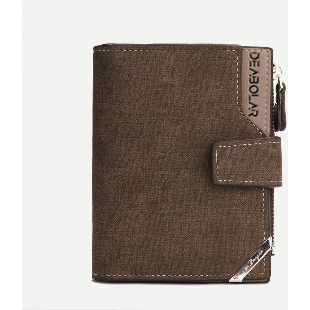 Portefeuille pliable avec porte-carte - SHEIN - Modalova