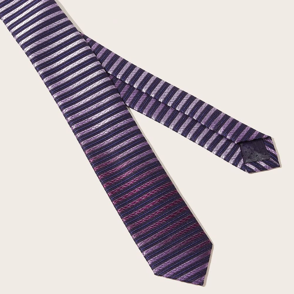 Homme Cravate à rayures - SHEIN - Modalova