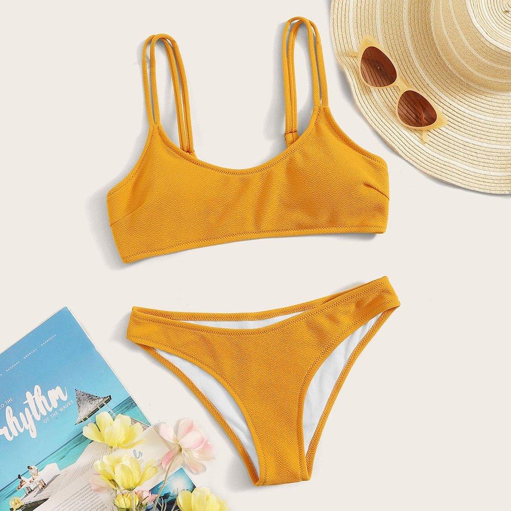 Bikini texturé - SHEIN - Modalova