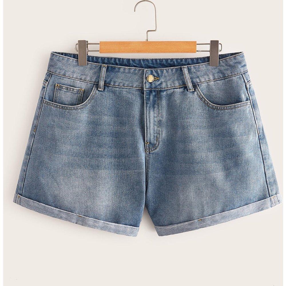 Short en jean avec poche - SHEIN - Modalova