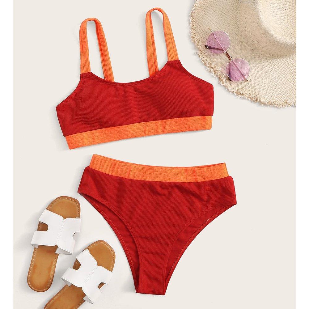 Bikini taille haute - SHEIN - Modalova