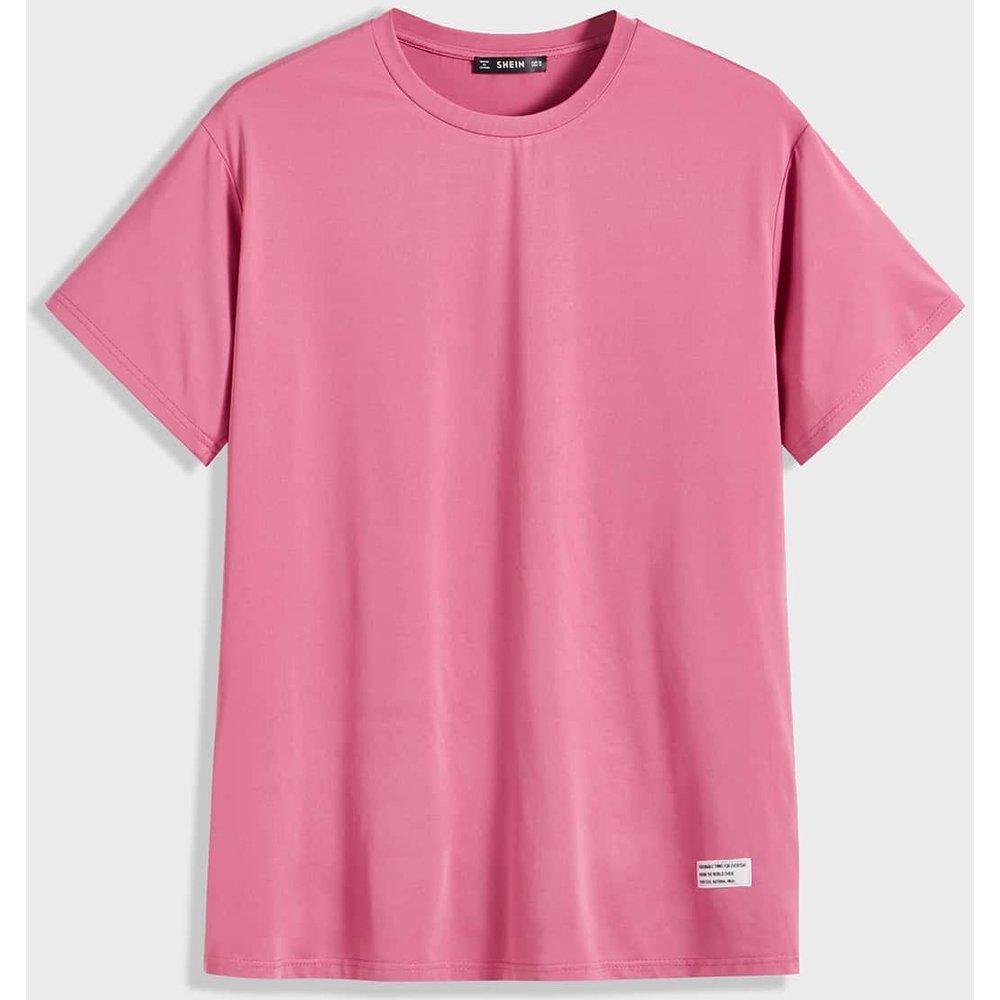 T-shirt avec pièces - SHEIN - Modalova