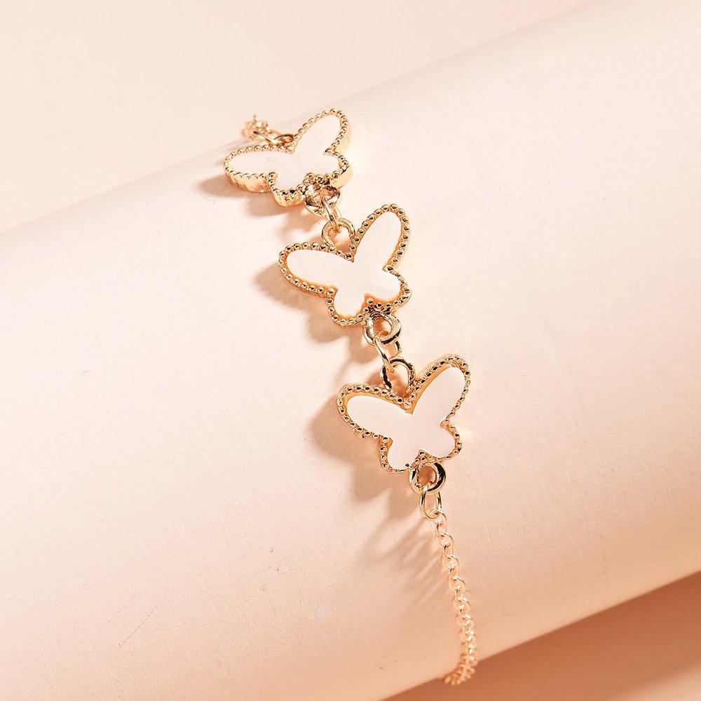 Bracelet chaîne papillon - SHEIN - Modalova