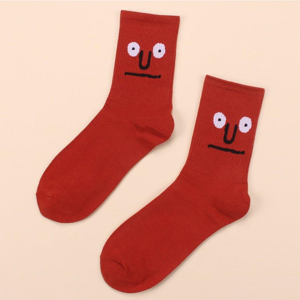 Chaussettes à motif dessin animé - SHEIN - Modalova