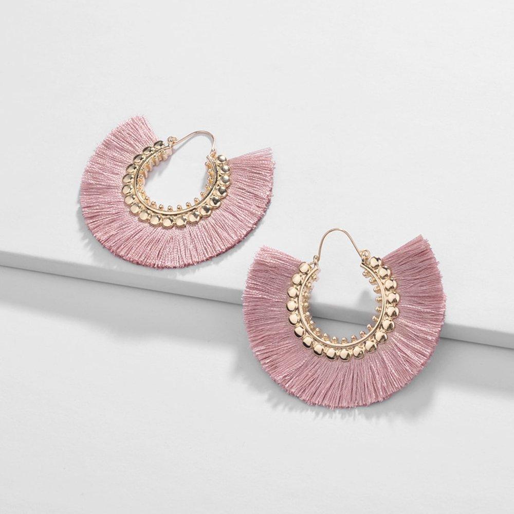 Boucles d'oreilles avec franges - SHEIN - Modalova