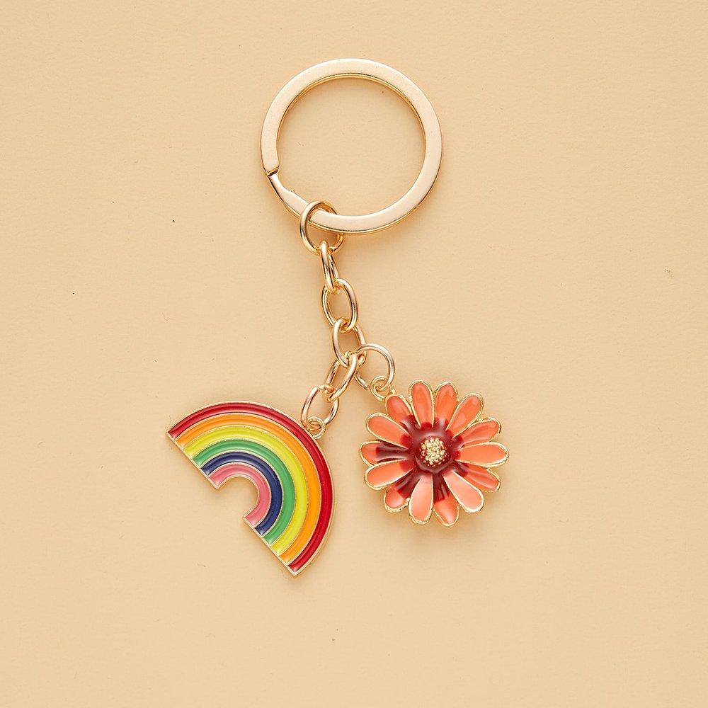 Porte-clé à fleur - SHEIN - Modalova