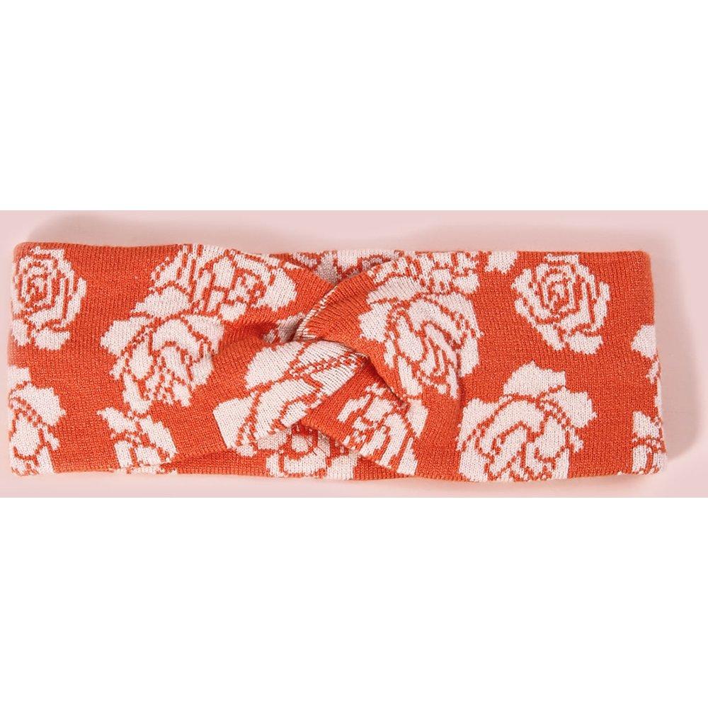 Bandeau à motif rose - SHEIN - Modalova
