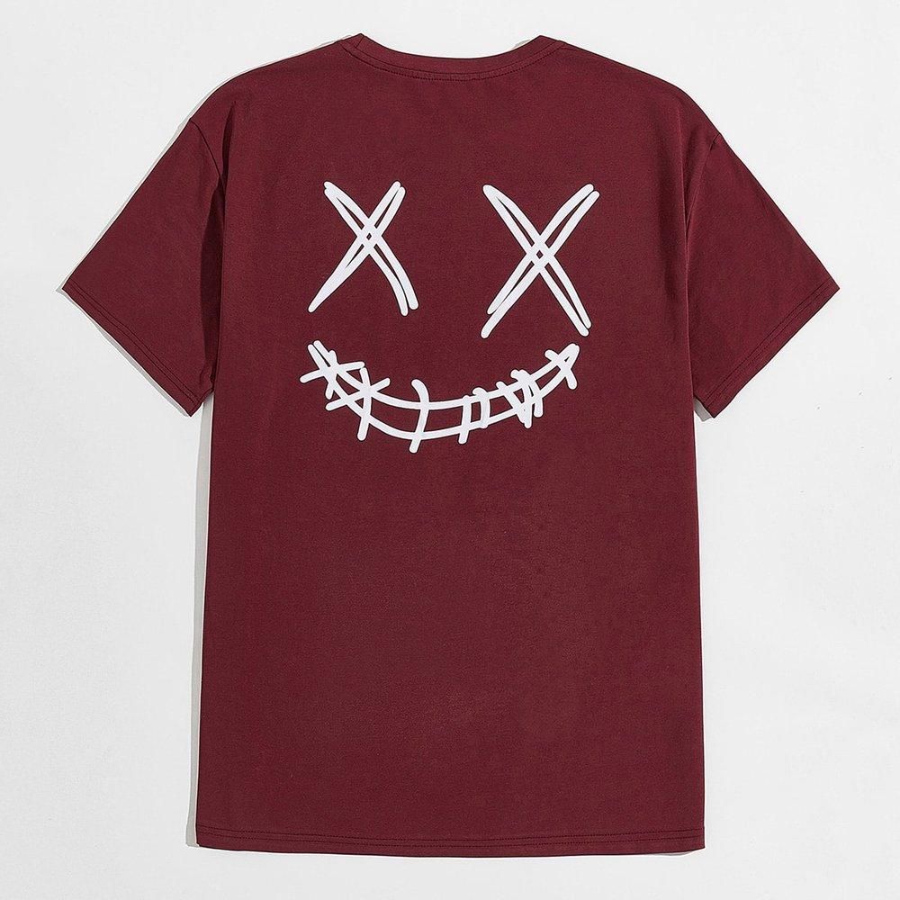 T-shirt à motif cartoon - SHEIN - Modalova