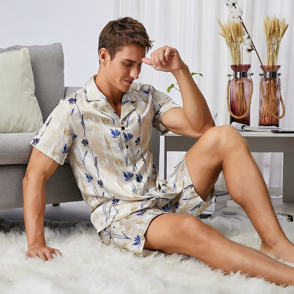 Ensemble de pyjama à imprimé - SHEIN - Modalova