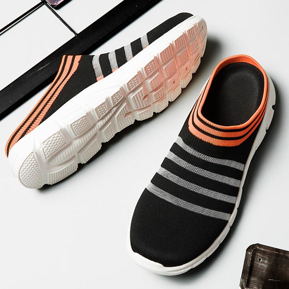 Baskets style chaussettes rayées - SHEIN - Modalova