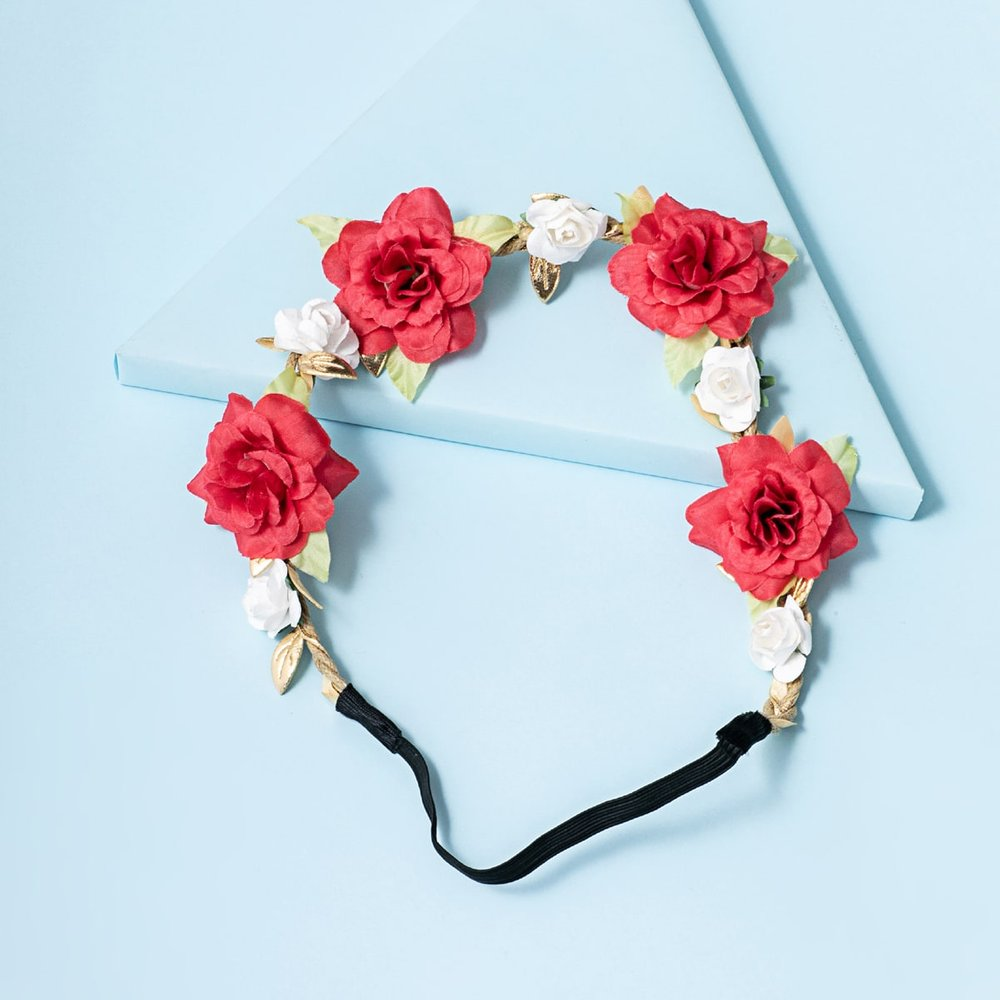 Bandeau avec fleurs - SHEIN - Modalova